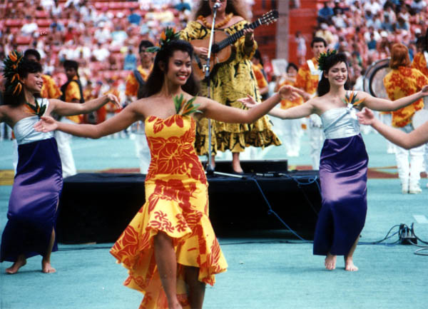 Hula Dancers at Ceremony